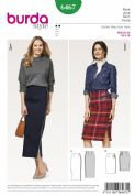 6467 Burda Pattern Skirt
